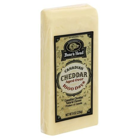 Canadian Cheddar Cheese, Product of Canada - 8 Ounces